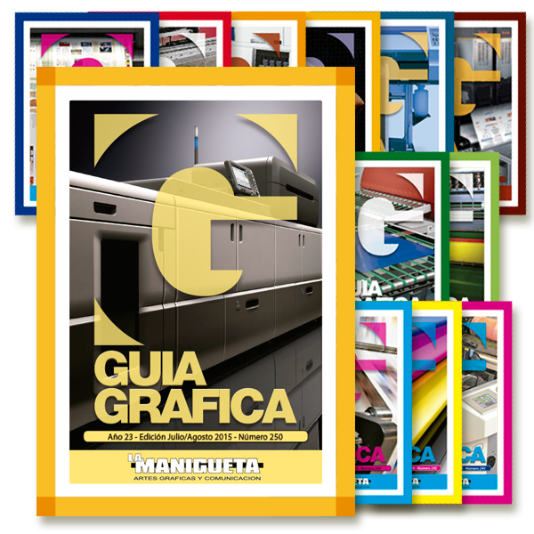 Guía Gráfica Magazine - Design, layout and image processing